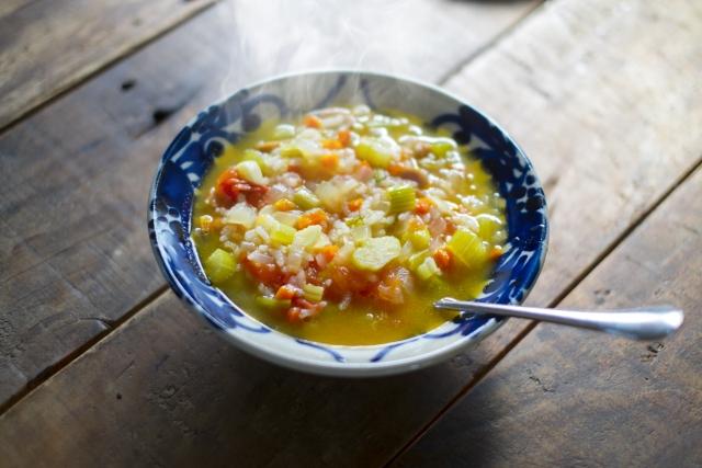 美腸スープ 豆乳