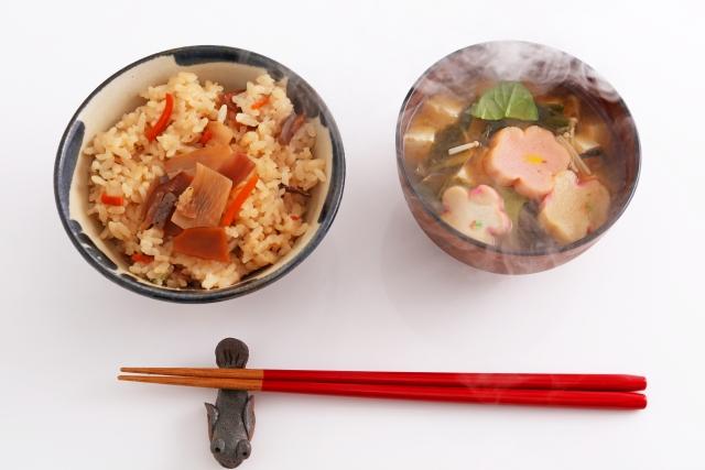 【いかフライ釜飯】レシピ