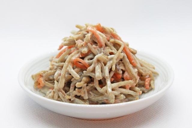 【ごぼうサラダ】秒速レシピ