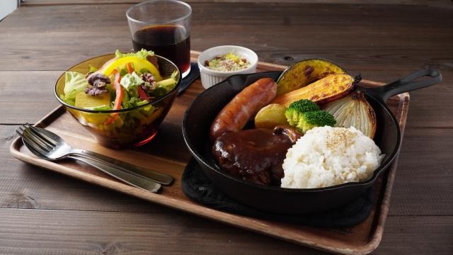 【つばめグリルのハンバーグ/ハンブルグステーキ】再現レシピ