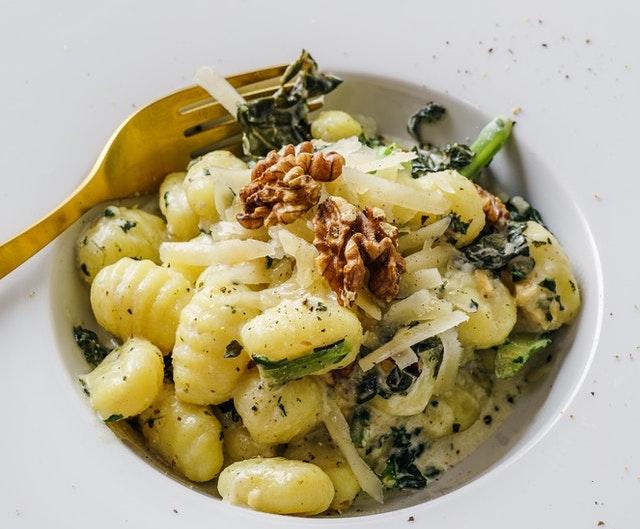 【代替チーズのパスタ】代替食品レシピ