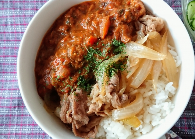 【すたみなカレー丼】すゑひろがりず南條庄助さんレシピ
