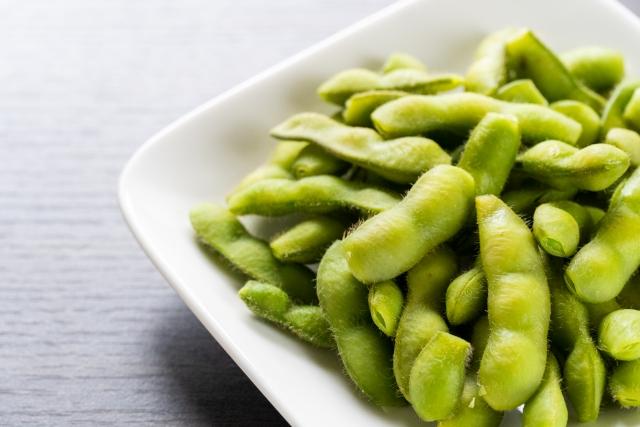 【枝豆のはんぺんチーズ焼き】枝豆レシピ
