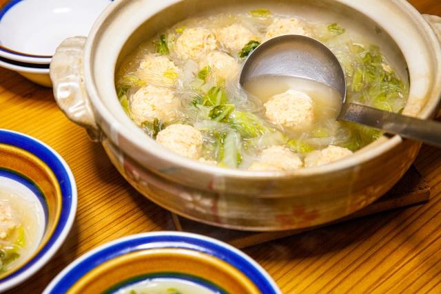 【新ごぼうの鶏スープ】レシピ