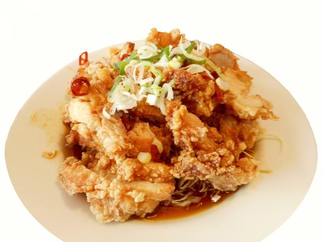【油淋鶏(ユーリンチー)】10分で2品レシピ