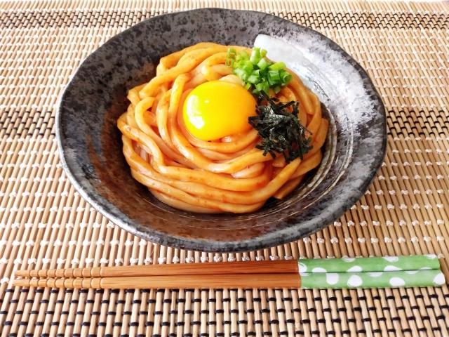 【サバ納豆釜玉うどん】リュウジさんの簡単のっけ飯レシピ