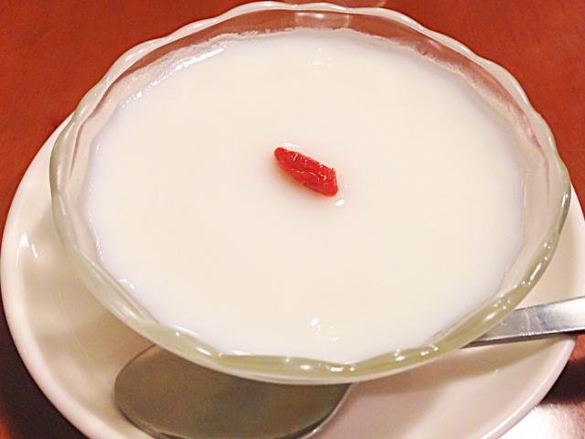 【豆腐の杏仁スープ】絹豆腐レシピ