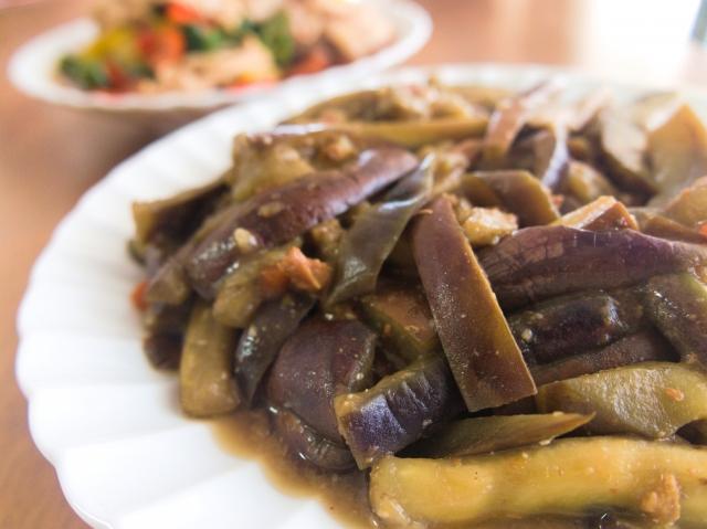 【なすと鶏ひき肉の炒め煮】神戸良子さんレシピ
