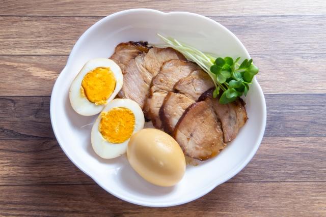 【かぼすバターで豚肩ロース焼き】レシピ